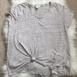 Neutral Knotted Top